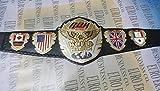 Wrestling Replica Belts New ROH Championship Belt, Adult Size & Metal Plates