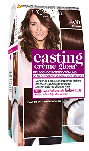 L'Oréal Paris Casting Creme Gloss ,400 Braun , 1er Pack (1 x 1 Stück)