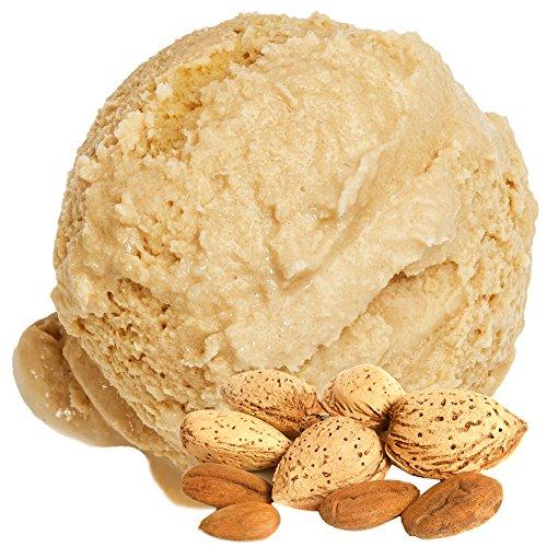 Wiener Mandel Geschmack 333 g Gino Gelati Eispulver für Ihre Eismaschine