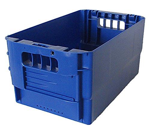 Postkiste Gr. 21 blau, Briefbehälter, Postbehälter, Stapelbox