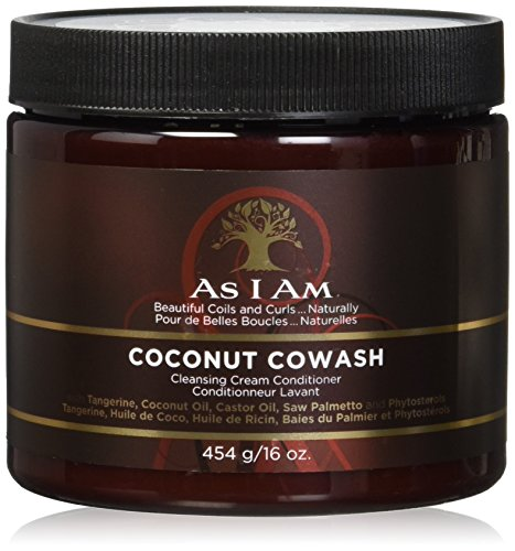 As I Am Coconut Cowash Cleansing Conditioner 16oz Pack of Two by I Am