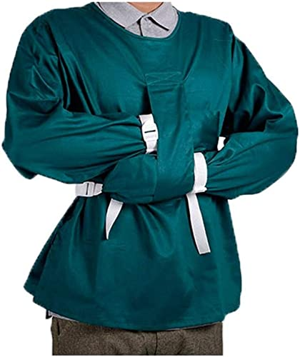 SHIJING Sicherheitskleidung Beschr ung Kleidung, bewerben mit unbewussten Bett Restagers - um Unruhe und Sturz zu verhindern,XL