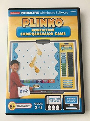 Plinko/ Non-Fiction Comprehension Game/Grades 3-4