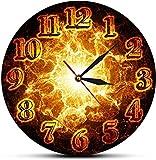 CDDRSXYQ Reloj de Pared Apagón Decorativo Reloj de Pared de