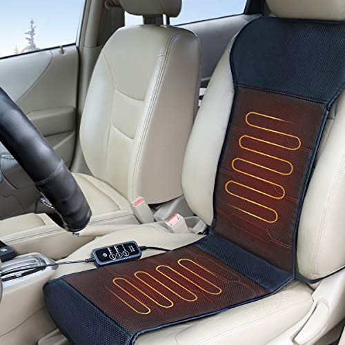 Relief Expert Car Seat Heater Warmer, Heated Seat Cover with Auto Shut Off, Smart Safety Protection, Universal Fit