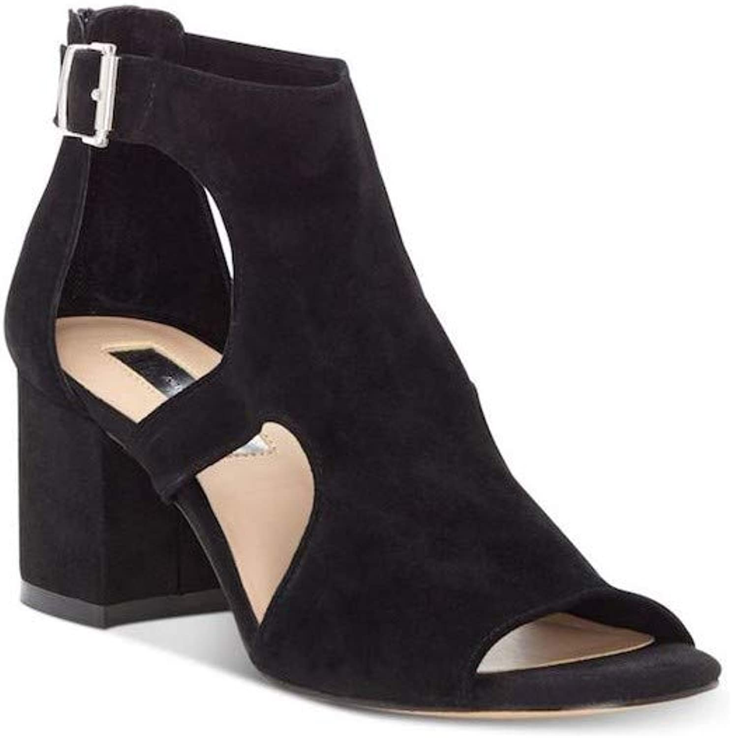 INC International Concepts Womens Helenn Leather Open Toe Casual Ankle Strap