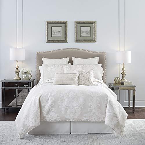 Croscill Kiarra Queen Comforter Set, White