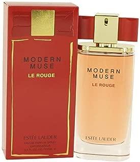 Estee Modern Muse Le Rouge Eau De Parfum Spray For Women, 3.4 Ounce