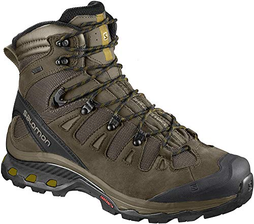 Salomon Men's Climbing Shoe, Wren/Bungee Cord/Green Sulphur, 14 D (M)