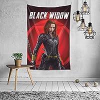 タペストリー Black Widow 個性 壁掛け布 部屋 寮 ホームステイ窓 壁 装飾用品 多機能 ブランケットカーテン ビーチタオル インテリア,(60x40inch/150x100cm)