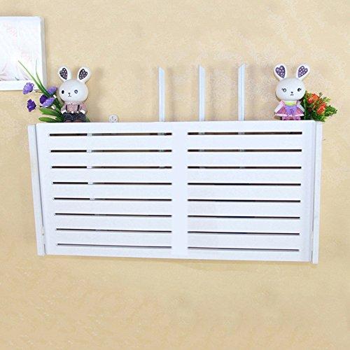 Ganeep WiFi Router Storage Box Wood-Plastic Shelf Wall Hangings Soporte Cable Organizador