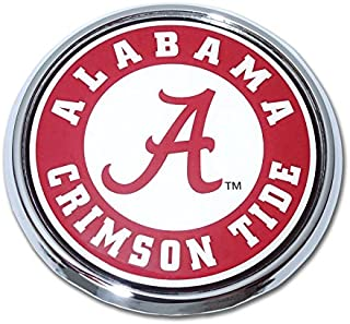 University of Alabama Crimson Tide Metal Auto Emblem - Many Available! Roll Tide! (Round Seal)