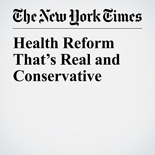 Health Reform That's Real and Conservative copertina