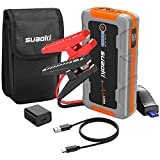 SUAOKI E92 1200A Jump Starter (Up to 8L Gas & 6L Diesel Engine)