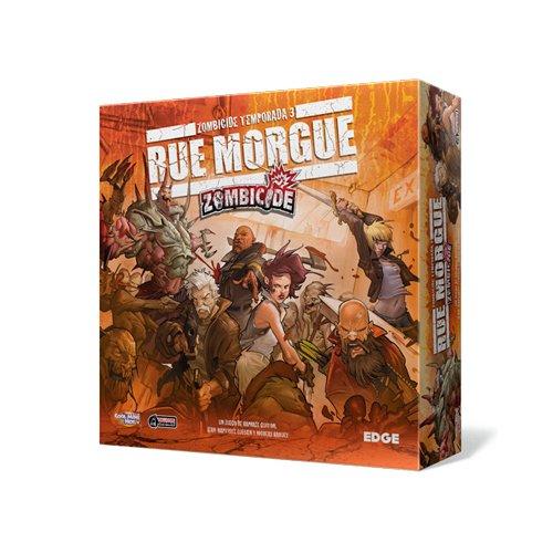 Edge Entertainment–Zombicide Season 3: Rue Morgue, Brettspiel (ZC05)