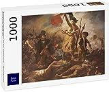 Lais Puzzle Eugène Ferdinand Victor Delacroix - La Libertad Que guía al Pueblo 1000 Piezas