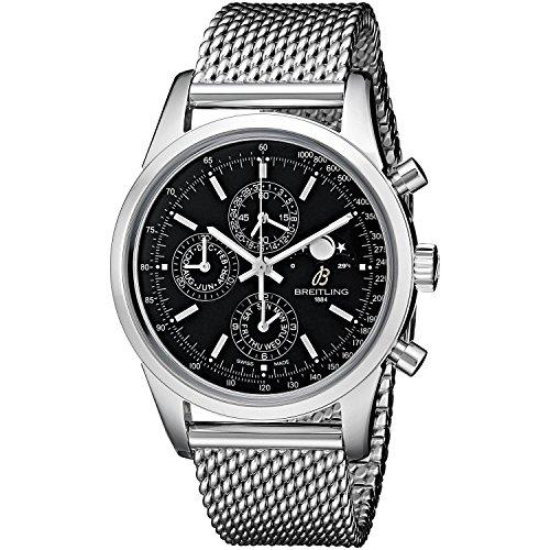 Breitling A1931012-BB68 - Orologio da uomo automatico con cronografo, in acciaio, colore: nero