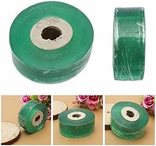 WarmShine 3 Pack Grafting Tape Self-Adhesive Nursery Stretchable Garden Flower Vegetable Grafting Tapes Moisture Barrier Plant Repair Floristry Gardening Film (Each 100m x 2.5cm)
