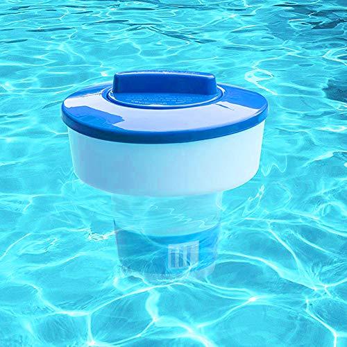 Allsunny Aufbewahrungsbehälter, Wasserausrüstung, 20,3 cm, Schwimmbad, Spa, automatisch, schwimmend, Chlor, Chemikalien, Tablettenspender Einheitsgröße einfarbig