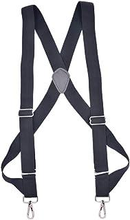 JTCMOJS サスペンダー メンズ 35mm サスペンダー ホルスター型 ズボン吊り ホルスター ワンサイズ 調節可能 結婚式 ビジネス カジュアル