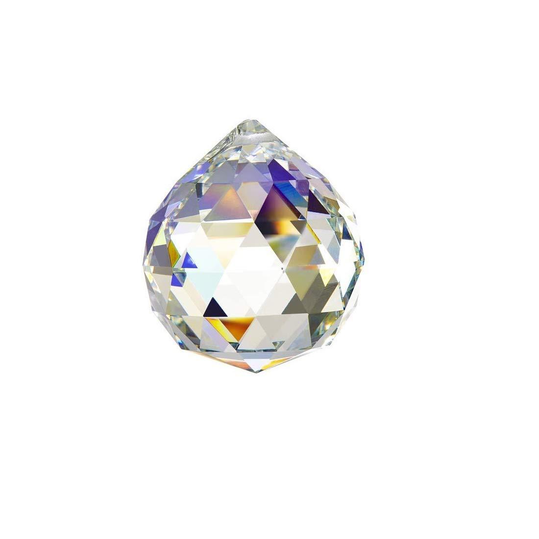 SET OF THREE  Doloburn 40mm Large Crystal Ball Prism Pendant