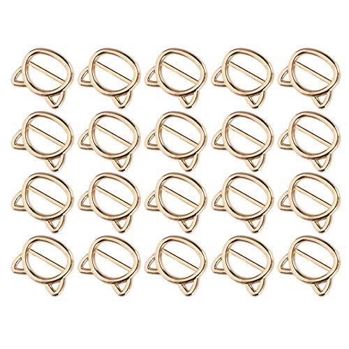 Elegante peso ligero de oro de la hebilla del rodillo bolsos cierres bolsos de mano accesorios de ropa para la ropa colgante decorativo