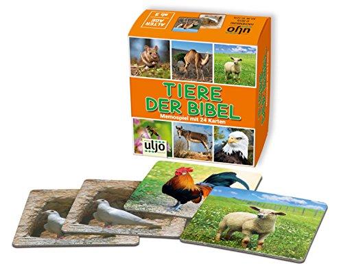 °° Memory Spiel christliche Motive Tiere der Bibel