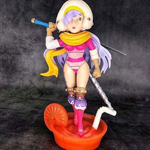 XzMoz One Piece Aunty Three Stars Charlotte Smoky Premium Figura en Caja Escultura Muñeca Modelo de Juguete
