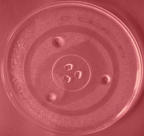 Mikrowellenteller / Drehteller / Glasteller für Mikrowelle # ersetzt Imperial Mikrowellenteller # Durchmesser Ø 31,5 cm / 315 mm # Ersatzteller # Ersatzteil für die Mikrowelle # Ersatz-Drehteller # OHNE Drehring # OHNE Drehkreuz # OHNE Mitnehmer