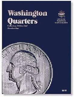 Washington Quarter Folder 1932-1947 (Official Whitman Coin Folder)