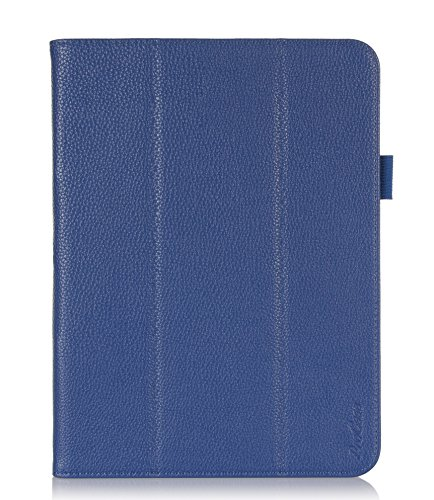 Read About ProCase Samsung Galaxy Tab 4 10.1 Tablet Case with bonus stylus pen - Tri-Fold Smart Cove...