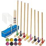 Best Croquet Sets - SpeedArmis 8 Players Croquet Set with 32In Regulation Review