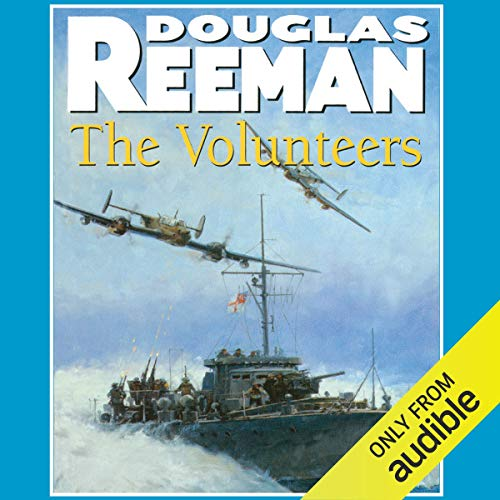 The Volunteers audiobook cover art