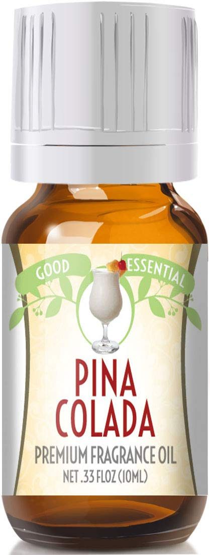 Pina Colada Scented Oil by Good Essential (Premium Grade Fragrance Oil) - Perfect for Aromatherapy, Soaps, Candles, Slime, Lotions, and More!