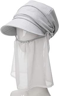 Hats Hat Female Beret Korean Summer Mesh Gauze Spring Outdoor Duck Tongue Sun Hat Cap Fashion (Color : Grey, Size : 57cm)