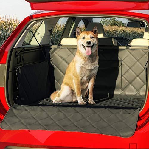 BELISY Universal Kofferraumschutz für Hunde - Mit Seiten- & Ladenkantenschutz - wasserdichte Kofferraummatte - rutschfest - 185 x 101 x 35 cm