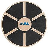 JLL Wooden Balance Board, ANTI SLIP SURFACE, Exercise Fitness Workout Rehabilitation Training Exercise Wobble Board
