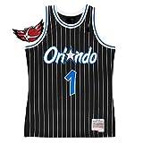 アンファーニーハーダウェイ#1オーランドマジックバスケットボールジャージー、ユースメンズファン刺繍レトロベスト、ユニセックス速乾性通気