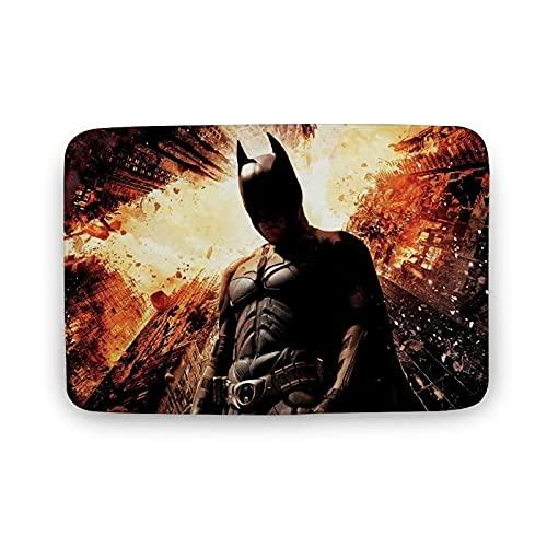 Tapis de jeu Batman en velours corail, tapis de jeu pour crèche, bébé, enfant, tapis de yoga pour exercice