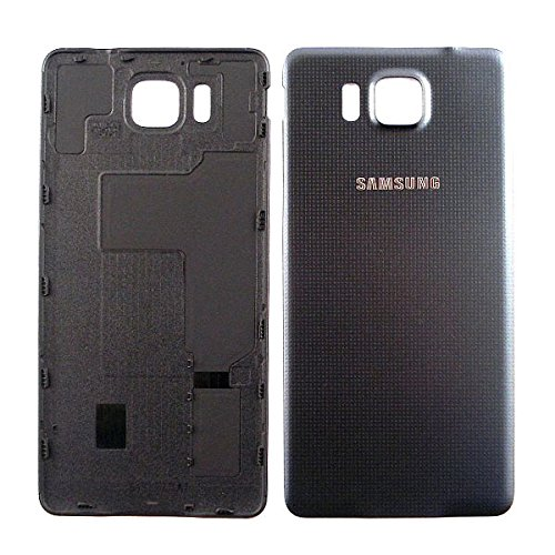 Samsung Galaxy Alpha SM-G850F Akkufachdeckel, GH98-33688A, Schale, Akkudeckel, Battery cover, Batterieabdeckung, Backcover, Cover Rückseite, Ersatzteile - Schwarz