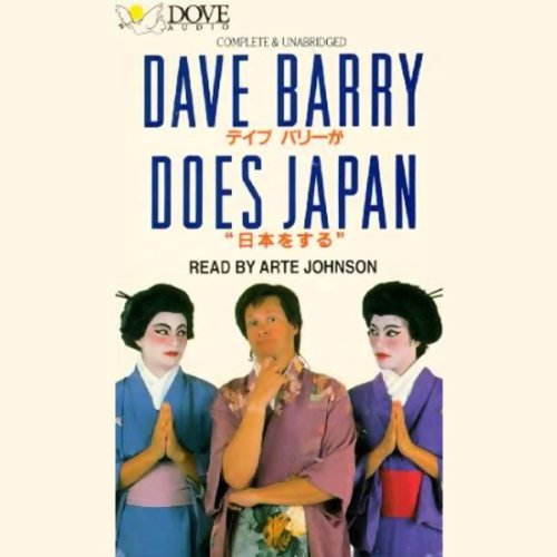Dave Barry Does Japan cover art