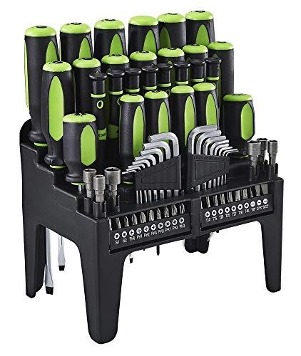 PITTSBURGH Comfort Grip Screwdriver Set, 70 Pc.
