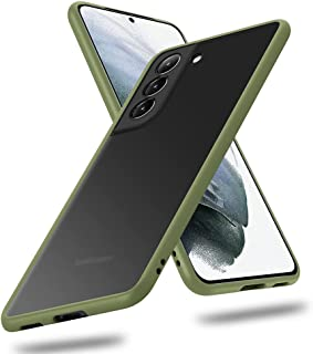 X-level Samsung Galaxy S21 Case Slim Thin Matte Finish Military Grade Protective Translucent Hard Back Cover with Soft Edg...