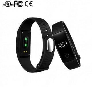 Fitness Tracker,Monitor de Actividad,Control de Cámara,Notificación de Mensaje,con Pódometro,Pulseras Actividad,Pulsera Inteligente con Pulsómetro,