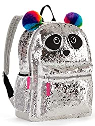 Panda Sequin Backpack with 2 Way Sequins
