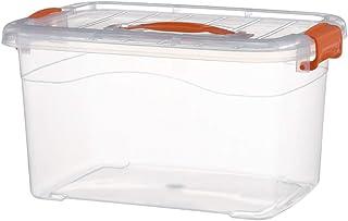 ZJP Boîte De Rangement Domestique Boîte De Rangement En Plastique Bacs De Rangement Transparents Boîtes De Rangement Pour ...