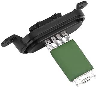 Qiilu Blower Resistor,Blower Motor Fan Smart Sense Radiator Resistor 9658508980 for 207 2006-2013 307 2001-present 308 2007-2013