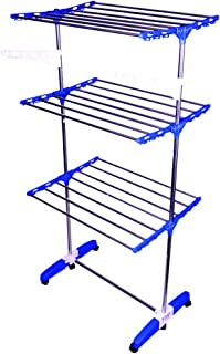 Mega Stand: Mega Stainless Steel Multi Layer, Indian Made, Cloth Drying Stand/Rack.