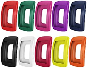 AWINNER Case for Gear Fit2 Pro SM-R365/Gear Fit2 SM-R360, Shock-Proof and Shatter-Resistant Protective Band Cover Case for Samsung Gear Fit2 Pro SM-R365/ Gear Fit2 SM-R360 Smartwatch (10-Colour)