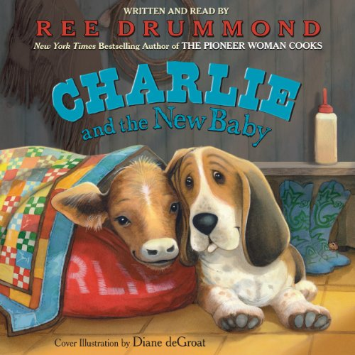Charlie and the New Baby audiobook cover art